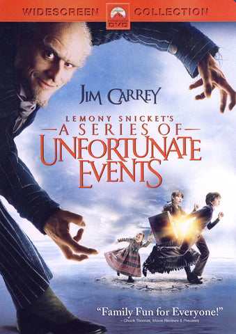 Lemony Snicket's a Series of Unfortunate Events (Widescreen Edition) DVD Movie