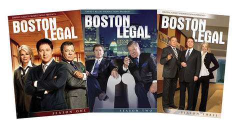 Boston Legal Seasons 1-3 (Boxset) DVD Movie