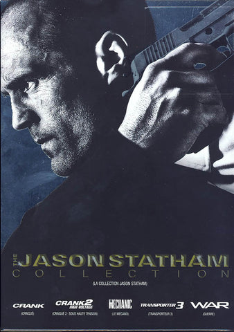 The Jason Statham Collection (The Mechanic / Crank / Crank 2: High Voltage / War / Transporter 3) (B DVD Movie