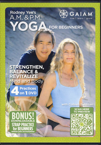 Rodney Yee's - A.M. P.M. Yoga for Beginners DVD Movie