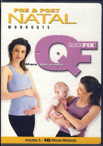 Quick Fix - Pre and Post Natal Workouts DVD Movie