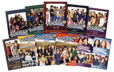 Degrassi Next Generation: Complete Series (Seasons 1-10) DVD Movie