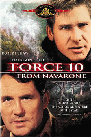 Force 10 From Navarone (MGM) (Black Cover) DVD Movie