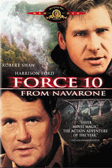 Force 10 From Navarone (MGM) (Black Cover)
