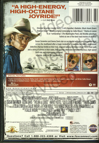 Thelma and Louise (MGM) DVD Movie