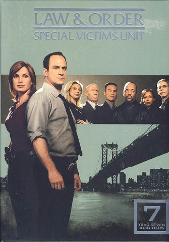 Law & Order - Special Victims Unit - The Seventh Year (Boxset) DVD Movie