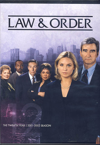 Law & Order - The Twelfth (12) Year (Boxset) DVD Movie