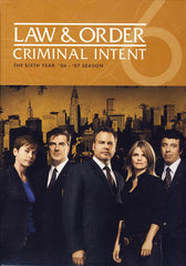 Law & Order Criminal Intent - Sixth Year (6) (Boxset)