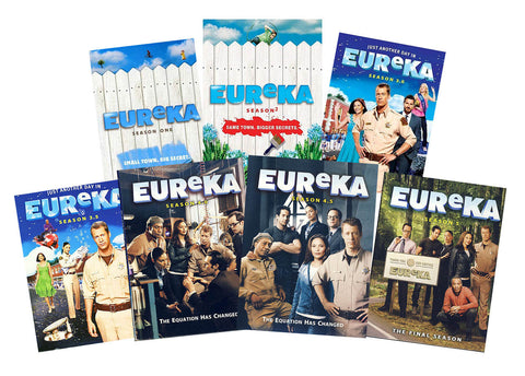 Eureka: The Complete Series (Season 1, 2, 3.0, 3.5, 4.0, 4.5, 5)(Boxset) DVD Movie