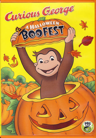 Curious George: A Halloween Boo Fest DVD Movie