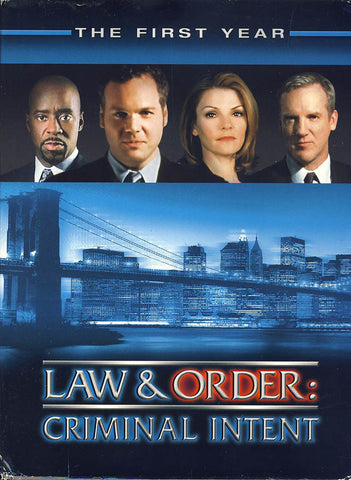 Law & Order Criminal Intent - The First Year (Boxset) DVD Movie