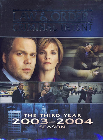 Law & Order Criminal Intent - The Third Year (Boxset) DVD Movie