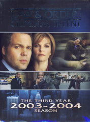 Law & Order Criminal Intent - The Third Year (Boxset)