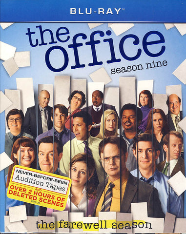 The Office: Season 9 (Blu-ray)(Boxset) BLU-RAY Movie