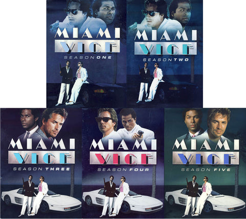 Miami Vice: The Complete Series (Boxset) DVD Movie