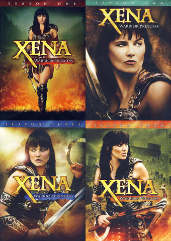 Xena Warrior Princess (Season 1, 2, 3, 4) (Boxset) DVD Movie