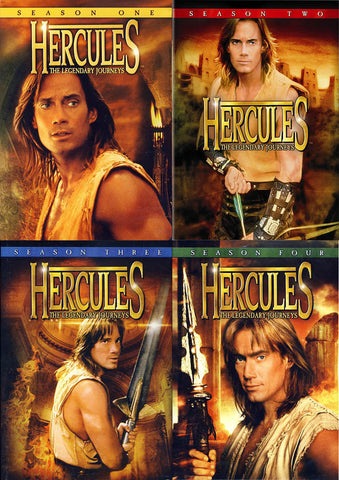 Hercules - The Legendary Journeys (Season 1, 2, 3, 4)(Pack)(Boxset) DVD Movie