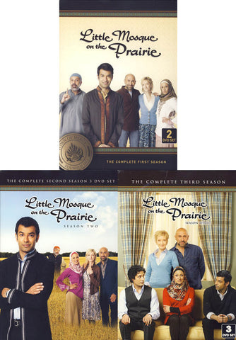 Little Mosque on the Prairie - Season 1, 2,3 (Pack)(Boxset) DVD Movie