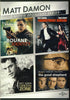 Matt Damon 4-Movie Spotlight Series DVD Movie