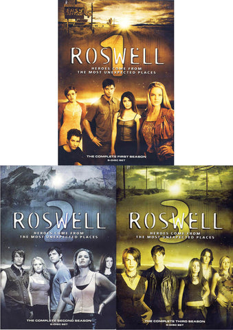 Roswell - The Complete Series (Season 1, 2, 3)(Boxset) DVD Movie