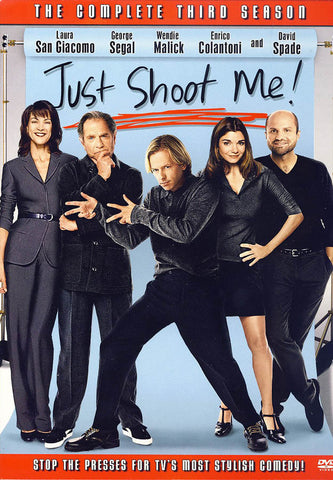 Just Shoot Me: Season 3 (Boxset) DVD Movie