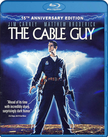 The Cable Guy (15th Anniversary Edition) (Blu-ray) BLU-RAY Movie