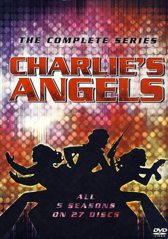 Charlie's Angels: The Complete Series (Boxset) DVD Movie