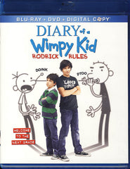 Diary of a Wimpy Kid - Rodrick Rules (Blu-ray / DVD + Digital Copy) (Blu-ray)