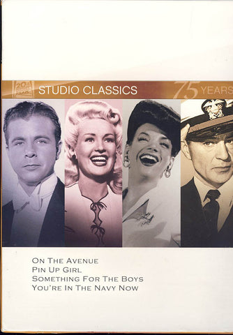 On the Avenue / Pin Up Girl / Something for the Boys / You re in the Navy Now)(Fox Studio Classics)( DVD Movie