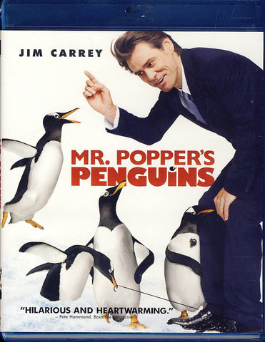 Mr. Popper's Penguins (Blu-ray) BLU-RAY Movie