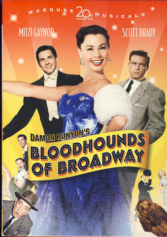 Bloodhounds of Broadway (Marquee Musicals) DVD Movie