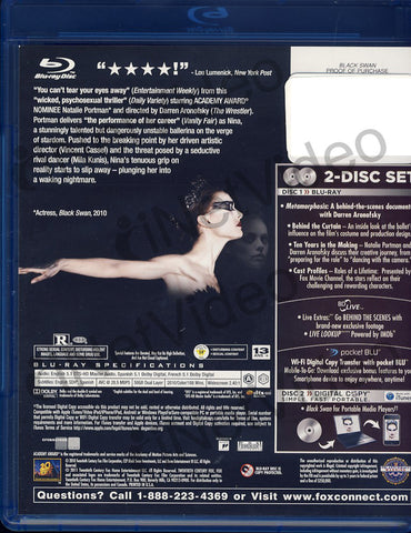 Black Swan (Blu-ray+Digital Copy)(Blu-ray) BLU-RAY Movie