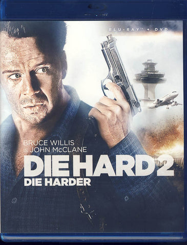 Die Hard 2: Die Harder (Blu-ray/DVD Combo)(Blu-ray) BLU-RAY Movie