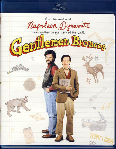 Gentlemen Broncos (Blu-ray) BLU-RAY Movie