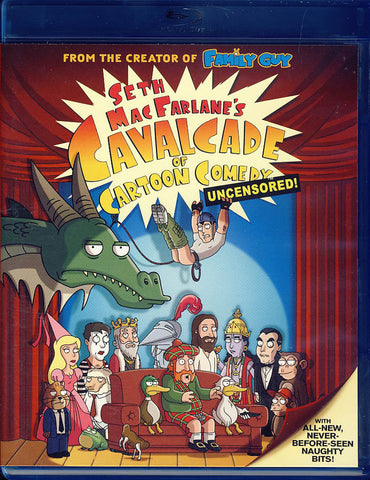 Seth MacFarlane's Cavalcade of Cartoon Comedy: Uncensored! (Blu-ray) BLU-RAY Movie
