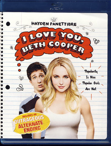 I Love You, Beth Cooper (Blu-ray) BLU-RAY Movie