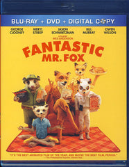 Fantastic Mr. Fox (Three-Disc Blu-ray/DVD Combo)(Blu-ray)