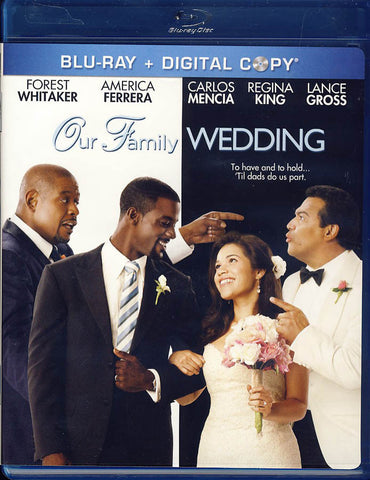 Our Family Wedding (Blu-ray+Digital Copy)(Blu-ray) BLU-RAY Movie