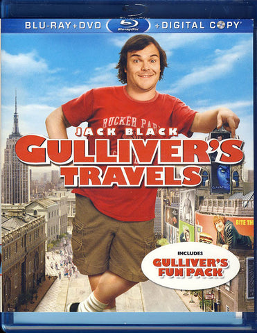 Gulliver's Travels (Blu-ray/DVD+Digital Copy)(Blu-ray) BLU-RAY Movie
