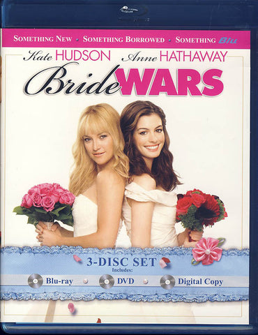 Bride Wars (Blu-ray + DVD + Digital Copy) (Blu-ray) BLU-RAY Movie