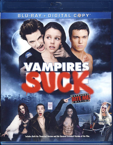 Vampires Suck (Blu-ray+Digital Copy)(Blu-ray) BLU-RAY Movie