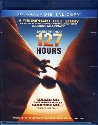 127 Hours (Blu-ray+Digital Copy)(Blu-ray) BLU-RAY Movie