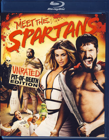 Meet The Spartans - Pit Of Death Edition (Blu-ray) BLU-RAY Movie