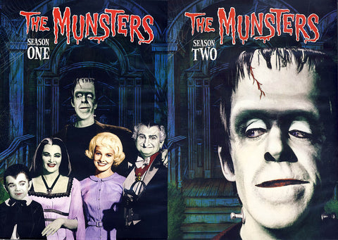 The Munsters - The Complete Series (Season 1 & 2)(Boxset) DVD Movie