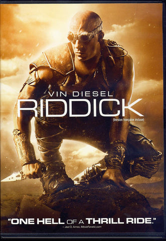 Riddick (Bilingual) DVD Movie