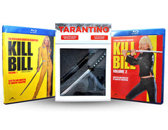 Kill Bill Volume One and Two (2 Pack) With Collectible Tarantino Samurai Sword (Plastic) (Blu-ray)
