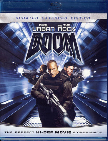 Doom (Unrated Extended Edition) (Blu-ray) BLU-RAY Movie