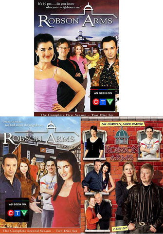 Robson Arms - The Complete Season 1, 2 and 3 (3 Pack) (Boxset) DVD Movie