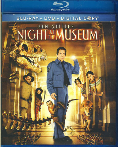 Night at the Museum (Blu-ray + DVD + Digital Copy Combo)(Blu-ray) BLU-RAY Movie