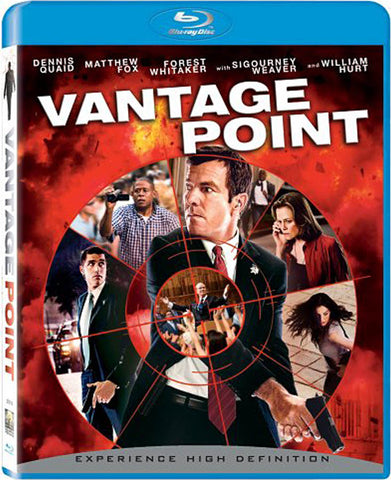 Vantage Point (English Cover) (Blu-Ray) BLU-RAY Movie